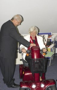 Besuch der Bundesseniorenministerin Renate Schmidt