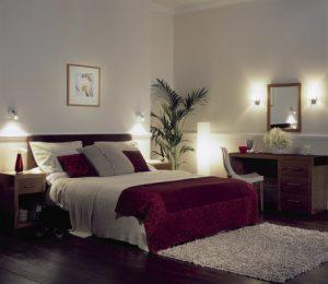Sanftes Licht im Schlafzimmer