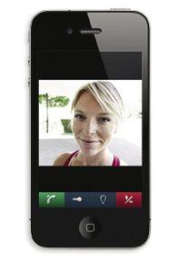 Türkommunikation via Smartphone